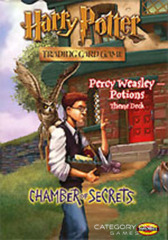 Chamber of Secrets Percy Weasley Potions Theme Deck