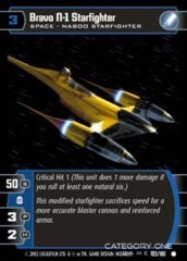 Bravo N-1 Starfighter - Foil