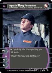 Imperial Navy Helmsman - Foil