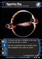 Hyperdrive Ring - Foil