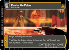 Plan for the Future - Foil