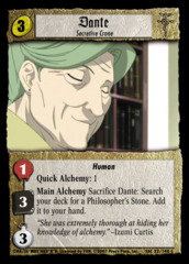Dante, Secretive Crone