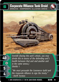Corporate Alliance Tank Droid - Foil