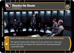 Dissolve the Senate