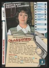 Agent Karen Kosseff, Counselor