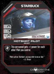 Starbuck, Hotshot Pilot (Foil)