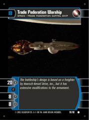 Trade Federation Warship