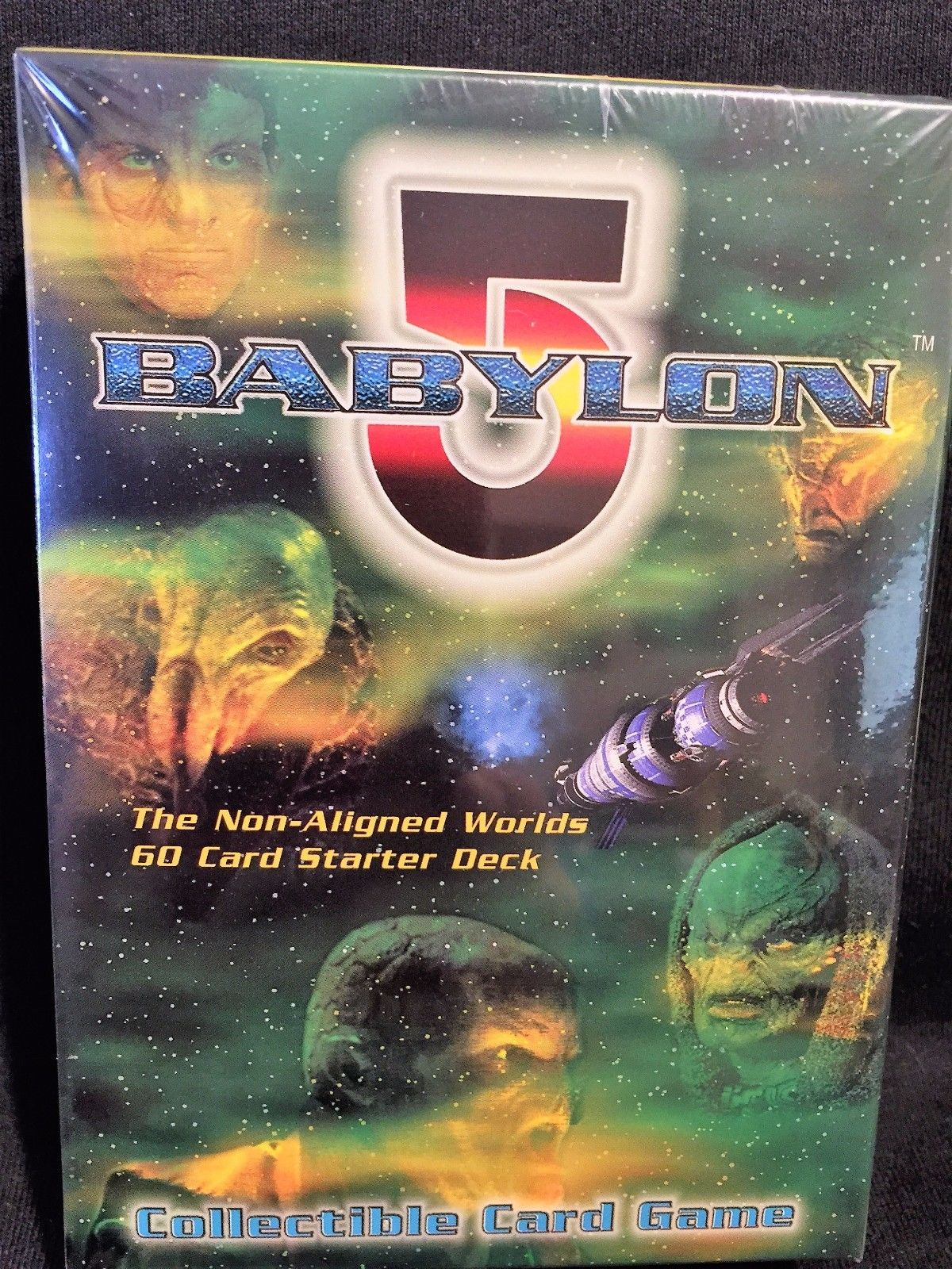 Non-Aligned Worlds 60 Card Starter Deck Babylon 5 The Great War CCG Card Game