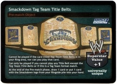 SmackDown! Tag Team Title Belts