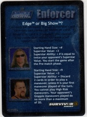 Edge or Big Show? (SS3)