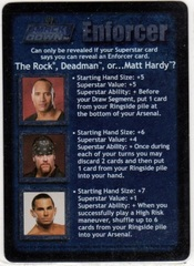 The Rock, Deadman, or Matt Hardy?