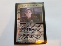 Captain Sinclair (signed by Michael O'Hare) [Severed Dreams]