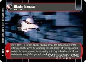 Blaster Barrage - Foil