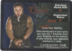 Kevin Thorn Superstar Card