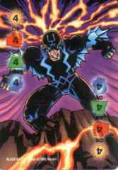 Power Card: Multi-Power 4 Black Bolt