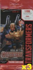 .Rise of the Combiners Booster Pack x 3