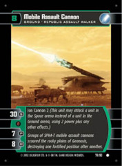 Mobile Assault Cannon