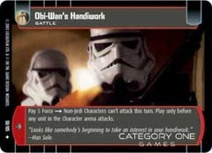 Obi-Wan's Handiwork - Foil