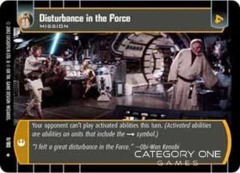 Disturbance in the Force - Foil