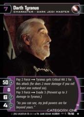 Darth Tyranus (B) - Foil