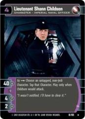 Lieutenant Shann Childsen (A)