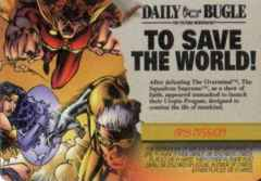 Mission: Event Any Mission: To Save the World