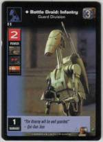 Battle Droid: Infantry, Guard Division