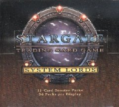 Stargate TCG System Lords Booster Box