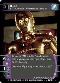 C-3PO (C) - Foil