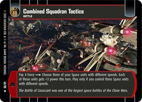 Combined Squadron Tactics