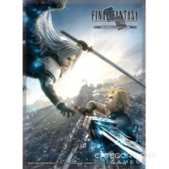 Deck Protector Card Sleeves Advent Children A Sephiroth vs Cloud