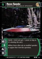 Recon Speeder