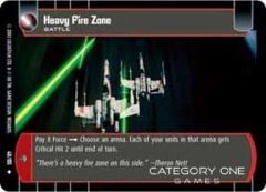 Heavy Fire Zone - Foil