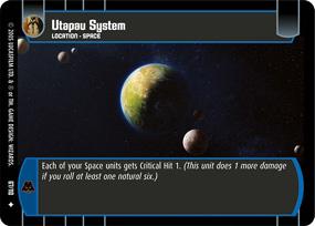 Star Wars TCG ROTS 4x Utapau System