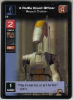 Battle Droid: Officer, Assault Division