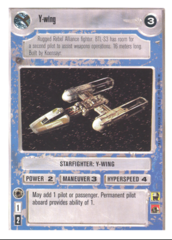 Y-wing [White Border]