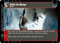 Battle the Wampa