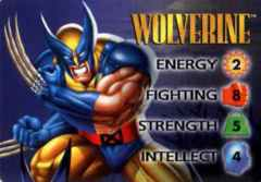Wolverine 4-Grid Character Card