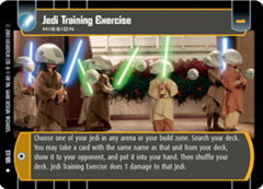 Jedi Training Exercise