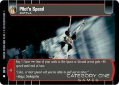 Pilot's Speed - Foil