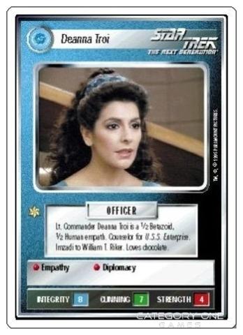 Deanna Troi [White Border Beta]