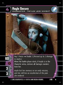 Aayla Secura (A) - Star Wars TCG » Sith Rising