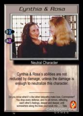 Cynthia & Rosa