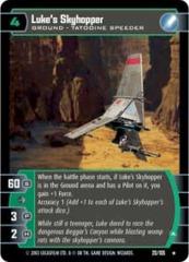 Luke's Skyhopper (A)