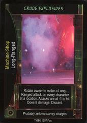 Crude Explosives