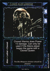 Cloned Alien Warrior