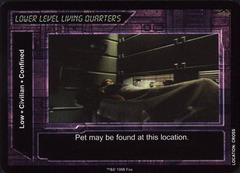 Lower Level Living Quarters