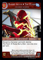 Barry Allen, The Flash, Founding Member - Foil