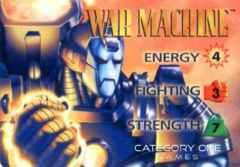 WAR MACHINE OP PLACARD HERO