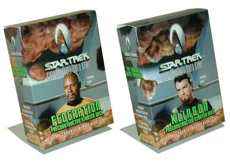 STAR TREK CCG TROUBLE WITH TRIBBLES BOOSTER BOX SEALED NEW!
